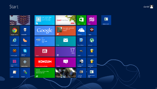 Windows 8 New UI